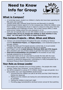 Group Leader information sheet